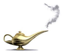 Magic Genie Lamp PNG - Stickeroid