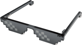187429207 Mlg Glasses Real Life Png Image With Transparent Background