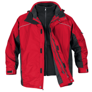 red black jacket