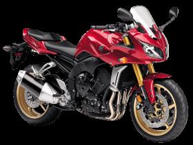 Red Yamaha FZ1 Motorcycle Bike