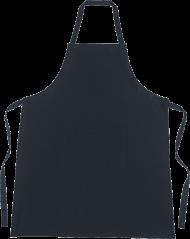 simple black apron