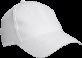 simple white cap