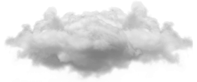small single cloud