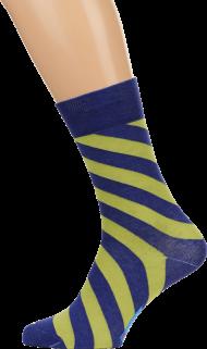 socks blue yellow