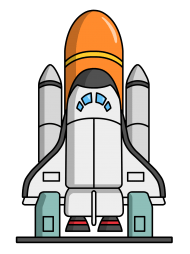 Space Shuttle Clipart