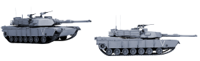 tank from two perspectives