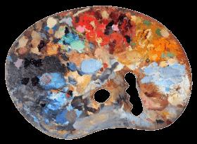 Used Artists Palette