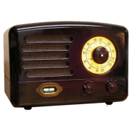 Vintage Bakelite Radio