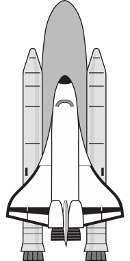 White space shuttle