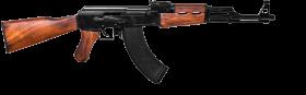 wooden assault rifle