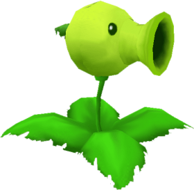 Download 3d Peashooter Plants Vs Zombies Gif Png Free Png Images Toppng