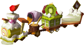 free PNG a pixel sprite of the dessert train from the legend - zelda spirit tracks train parts PNG image with transparent background PNG images transparent