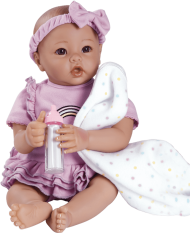 Download Adora Real Baby Doll Baby Time Baby Lavender 03 1rs Adora Dolls Babytime Lavender Rainbow Png Free Png Images Toppng