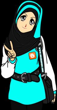Download Ambar Kartun Muslimah Peace Png Free Png Images Toppng