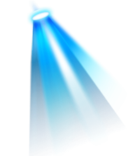 blue light effect png PNG images transparent