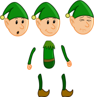 Download Body Parts 2d Character Body Parts Png Free Png
