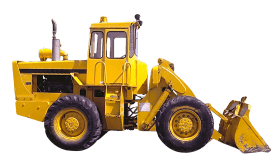 Bulldozer Tractor PNG images transparent