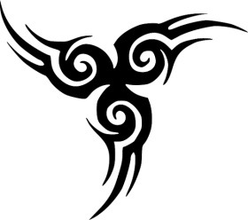 Download Cool Tattoo Designs Simple Tribal Black And White Png Free Png Images Toppng