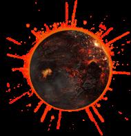 dead planet PNG images transparent