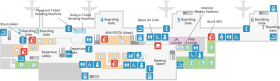 domestic terminal 2f map - aso PNG images transparent