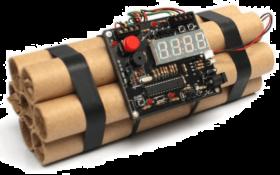 Download Dynamite Transparent Background Defuse Bomb Alarm Clock Png Free Png Images Toppng