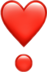 emoji png iphone red love pictures www picturesboss - iphone love heart emoji PNG images transparent