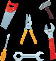 flat carpenter tools png, carpenter, carpenter tools, - ferramenta de carpinteiro PNG images transparent