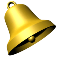 Bell Gold PNG images transparent