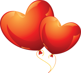 Heart Balloon PNG images transparent