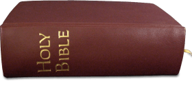 Holy Bible Side View PNG images transparent