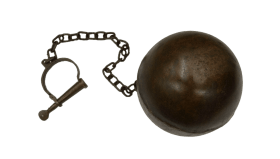 Medieval Ball and Chain PNG images transparent