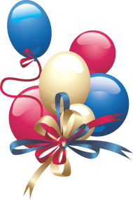 Party Balloon PNG images transparent