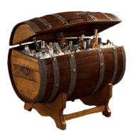 Tequila Barrel Ice Chest PNG images transparent