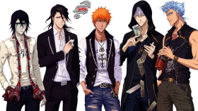 full size - bleach characters PNG images transparent