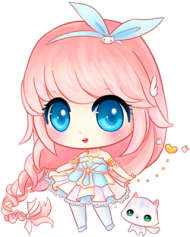 Download Girl Anime Chibi Drawing Cute Png Free Png Images Toppng