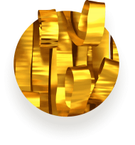 gold PNG images transparent