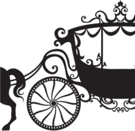 Download Horse And Carriage Clipart 28 Collection Of Cinderella Carriage Silhouette Png Free Png Images Toppng