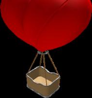 hot air balloon clipart heart - hot air balloo PNG images transparent