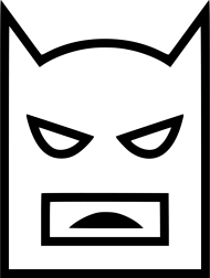 Download Icon Batman White Batman Joker Icon Batman White Png Free Png Images Toppng