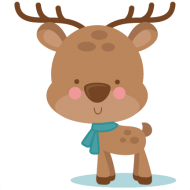 Download irl winter deer svg scrapbook cut file cute clipart - cute winter  clip art png - Free PNG Images | TOPpng