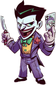 Download Joker Guason Freetoedit Joker Cartoon Gif Png Free Png Images Toppng