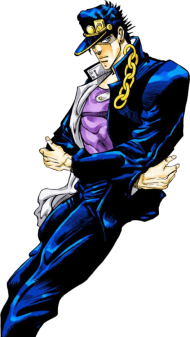 Download Jotaro Kujo Stardust Crusaders Jojo S Bizarre Adventure Transparent My Jojo S Bizarre Adventure Png Free Png Images Toppng