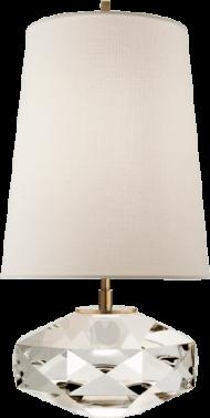 kate spade castle peak glass lamp (lighting), crystal PNG images transparent