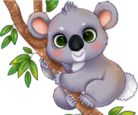 Download Koala Clipart Animated Clipart Transparent Background Koala Png Free Png Images Toppng