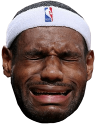 Mj Crying Face Png Black And White Download - Lebron ...