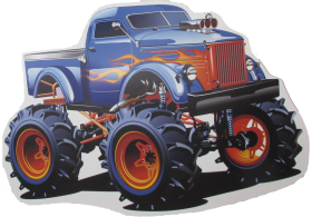Download Monster Truck Wheelchair Costume Hot Wheels Cars Vector Png Free Png Images Toppng