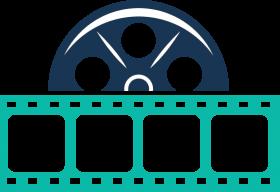 movie reels, tool design, vectors, film reels - film reel icon PNG images transparent