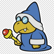 Download Paper Mario Color Splash Bowser Jr Png Free Png