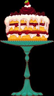 free PNG pintura en tela, tartas, personalizar, pasteles, comida - strawberry shortcake dessert PNG image with transparent background PNG images transparent
