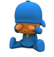 pocoyo crying PNG images transparent